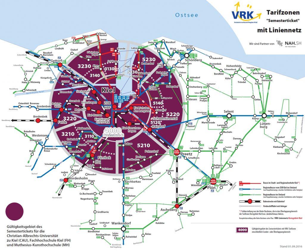 Hvv Karte Ringe.Geltungsbereich Asta Uni Kiel
